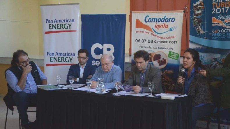 El municipio y la Asociación Hotelera lanzaron la Expo Turismo y Comodoro Invita.