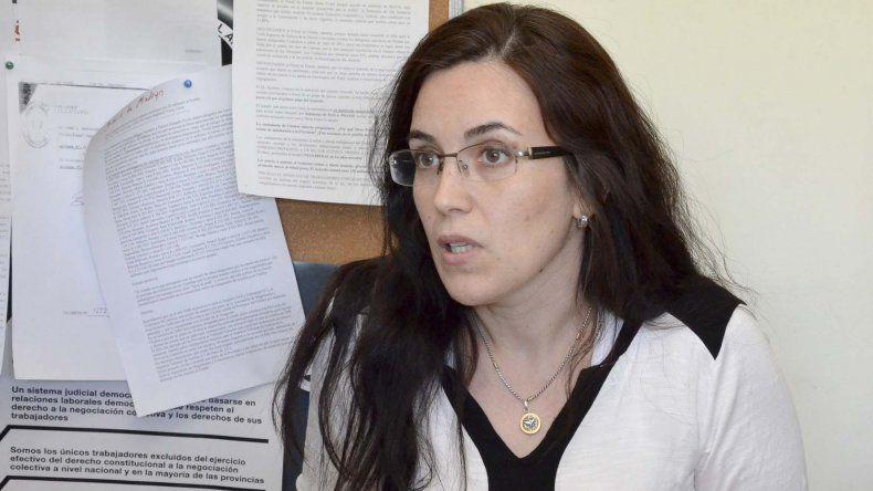 La fiscal general Mónica García ayer superó el examen para ser juez penal de Comodoro Rivadavia.
