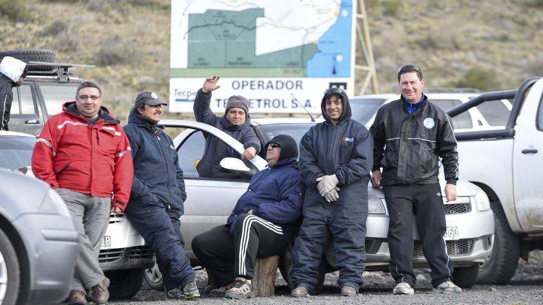 Hoy se cumple un mes de que los trabajadores tomaron en forma pacífica el yacimiento El Tordillo.