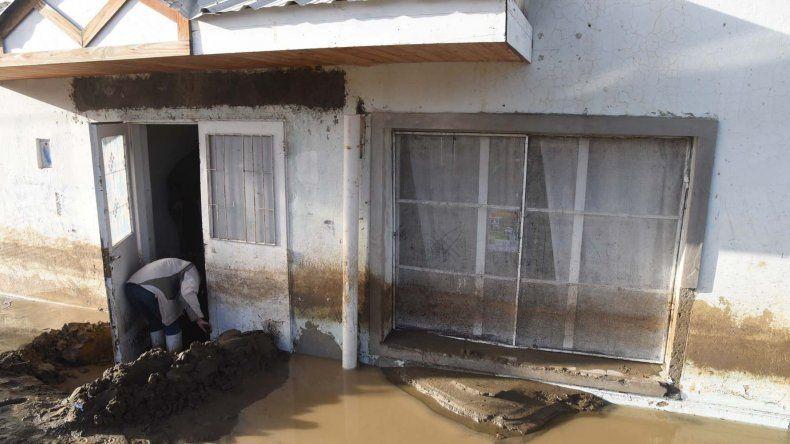 Los beneficiarios de las viviendas son las familias que integran el padrón de afectados por el temporal.