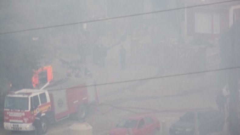 Se incendió una casa en la extensión del San Cayetano