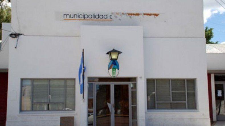 Allanaron la Municipalidad de Caleta Oliva