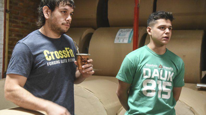 Gabriel Domínguez y Santiago Sanna serán parte de los Games de Crossfit denominado La Batalla de Los Andes.