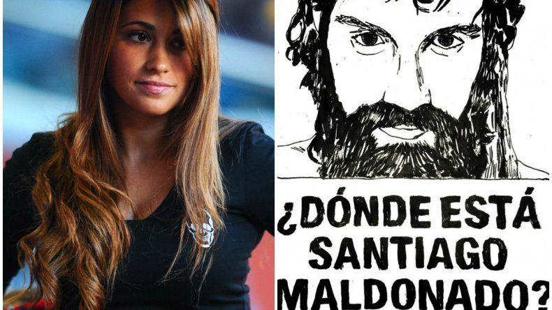 La esposa de Messi también pregunta ¿Dónde está Maldonado?