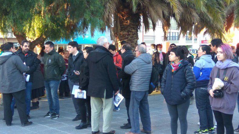 Masiva movilización en Comodoro por Santiago Maldonado