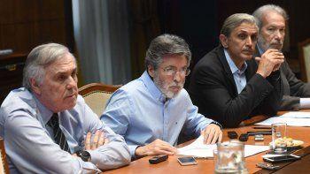 Alberto Abad, titular de la AFIP, encabezó la conferencia de prensa donde se anunció la recaudación de agosto.