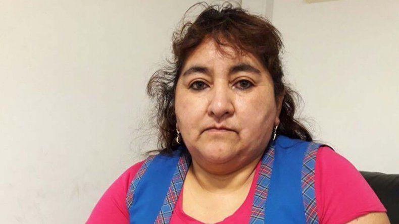 Ana Huequen Nahuelquin alerta a los comercios que no le den créditos