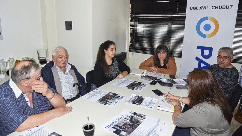 En PAMI se lanzó el programa que se realiza en conjunto con la Universidad Nacional de la Patagonia San Juan Bosco.