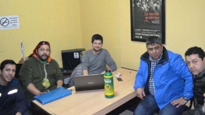 Dirigentes de tres gremios que nuclean a trabajadores mineros se reunieron el viernes en Río Turbio