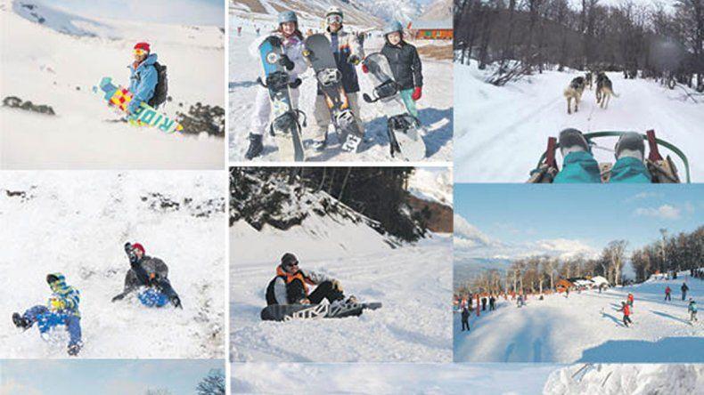 8 Parques de nieve