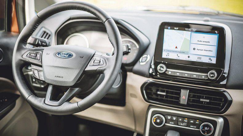 Ford EcoSport:Salto en calidad y confort