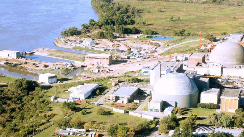 El sector del río Paraná donde se podría construir la central atómica.