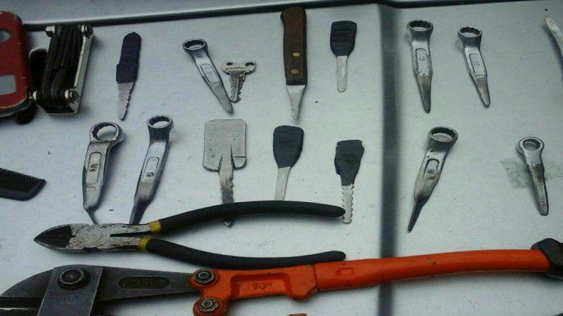 Los atraparon in fraganti cuando robaban herramientas en una casa
