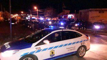Trasladaron a unos 60 policías para realizar controles en Caleta
