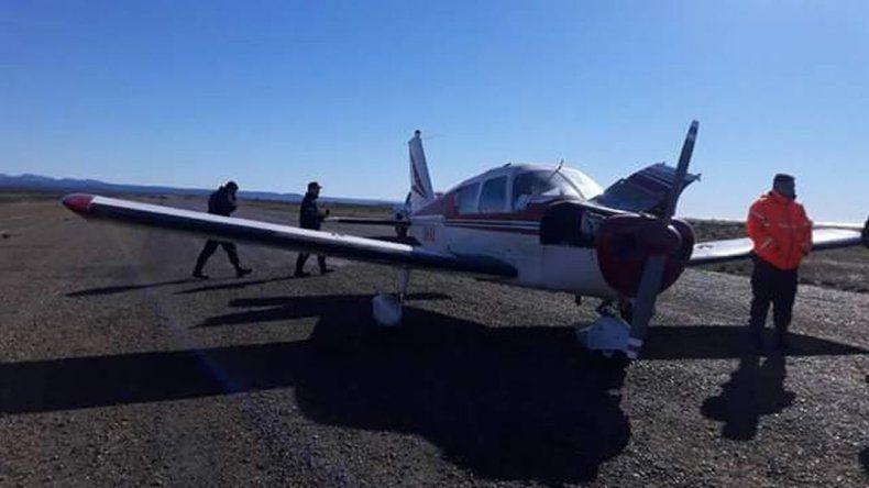 Avioneta aterrizó de emergencia a la vera de Ruta 3