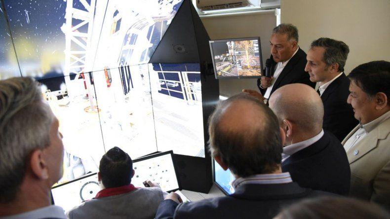 Pan American inauguró un ciber simulador de última generación