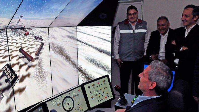 El ciber simulador posibilitará recrear situaciones para optimizar la producción.