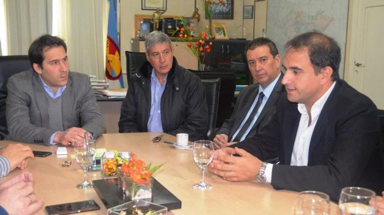 El viceintendente Luque recibió ayer al director nacional de Pluralismo e Interculturalidad de la Secretaría de Derechos Humanos de la Nación
