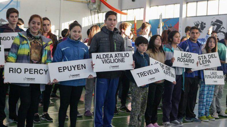 En total habrá 44 localidades y parajes de Chubut durante la competencia en el Valle.