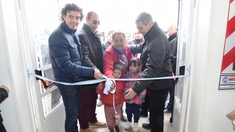 Quedó inaugurado el Centro de Salud de la Fracción XIV
