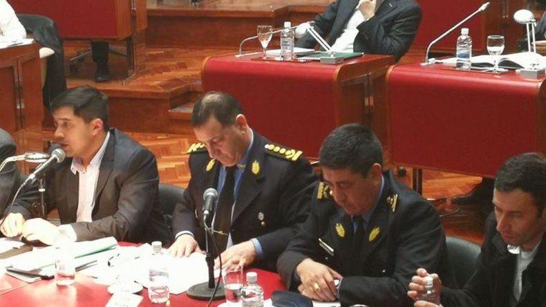 Durán aseguró que la policía del Chubut no participó en el desalojo de Ruta 40