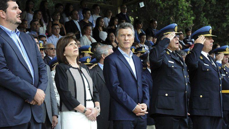 Macri convocó a una reunión de urgencia y respaldó a Bullrich
