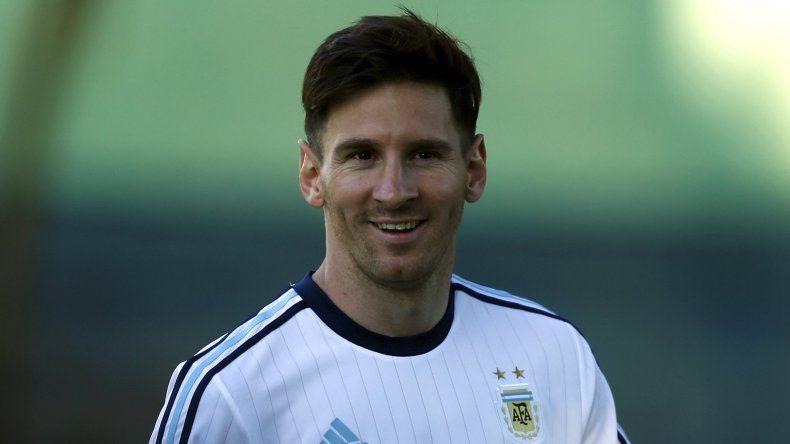 Messi volvió a mostrar su tatuaje más pícaro