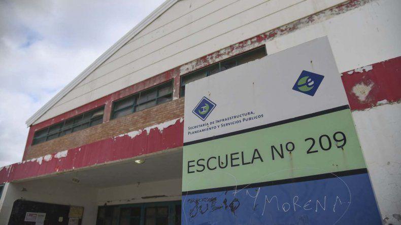La Escuela 209 se encuentra en el barrio San Cayetano.