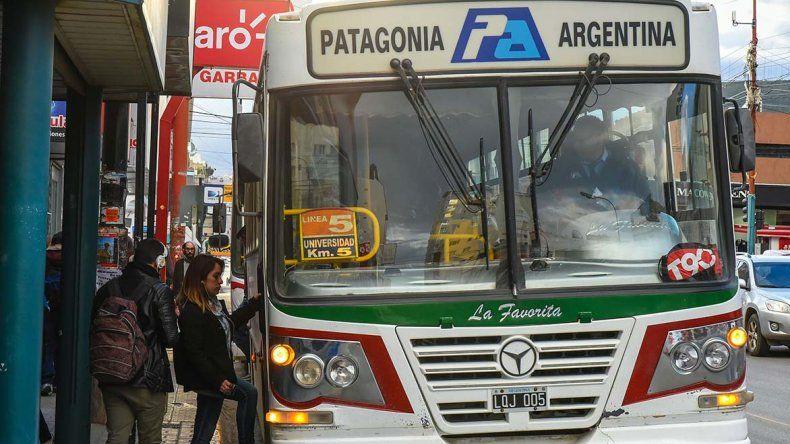 Los choferes de Patagonia Argentina paralizarían hoy el servicio tras no percibir el pago de sus haberes de agosto.