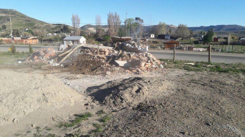 Levantaron un asentamiento ilegal en Manantial Rosales