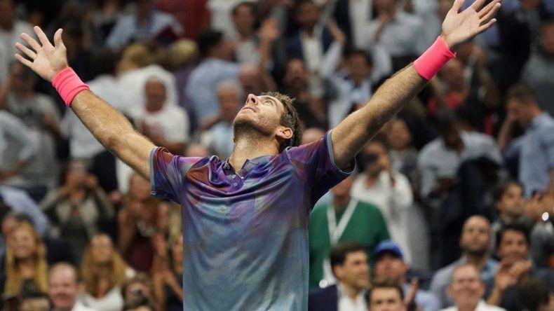 Juan Martín Del Potro buscará esta noche meterse en la final del último Grand Slam de la temporada.