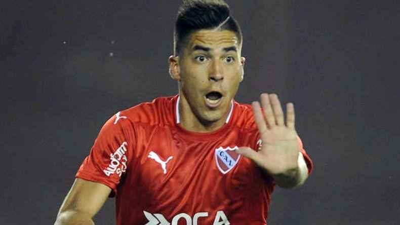 Leandro Fernández será esta noche el único punta en el ataque de Independiente.