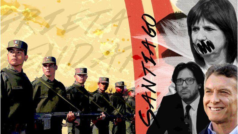 La grieta del Gobierno por el rol de la Gendarmería