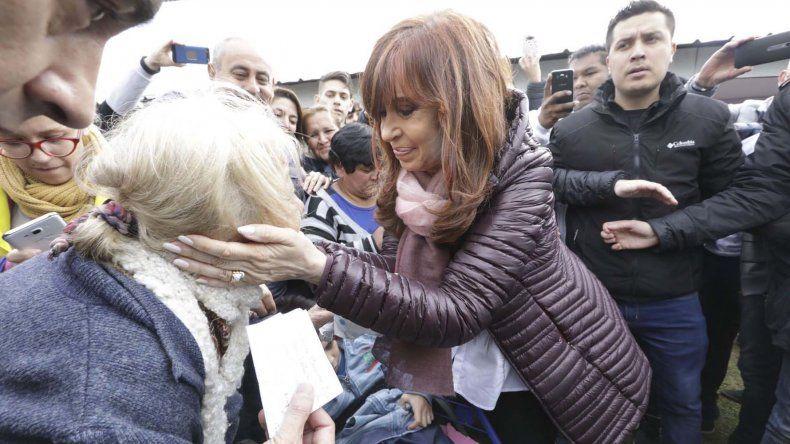 Cristina volvió a pedir un cambio de rumbo en la política económica