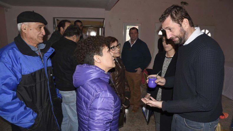 Alvarez de Celis volvió a Comodoro Rivadavia