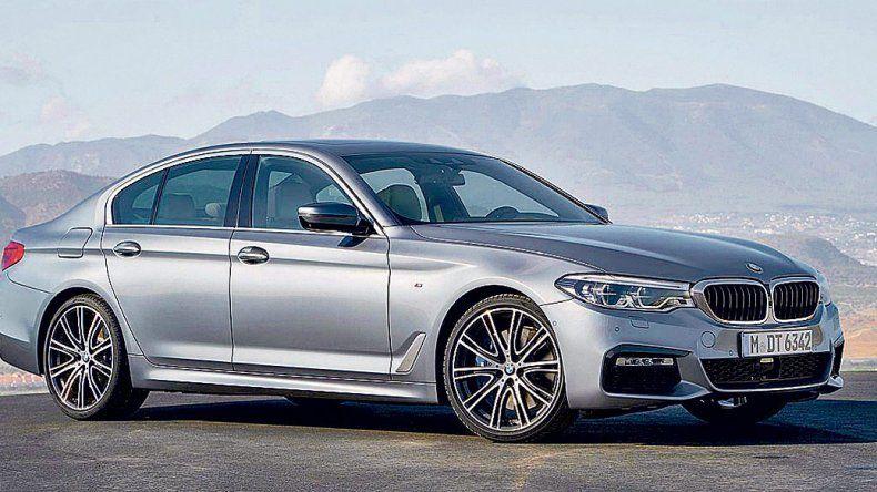 BMW Serie 5: Sedán Premium  con más tecnología