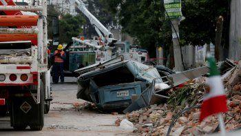 un nuevo sismo golpeo a mexico