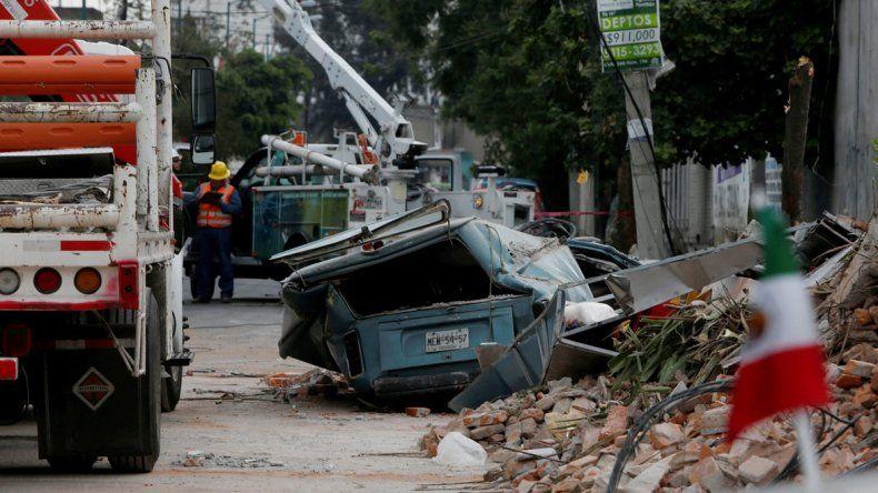 Un nuevo sismo golpeó a México: se pararon las tareas de rescate