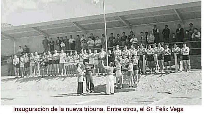 El día que se inauguró la nueva tribuna de Diadema