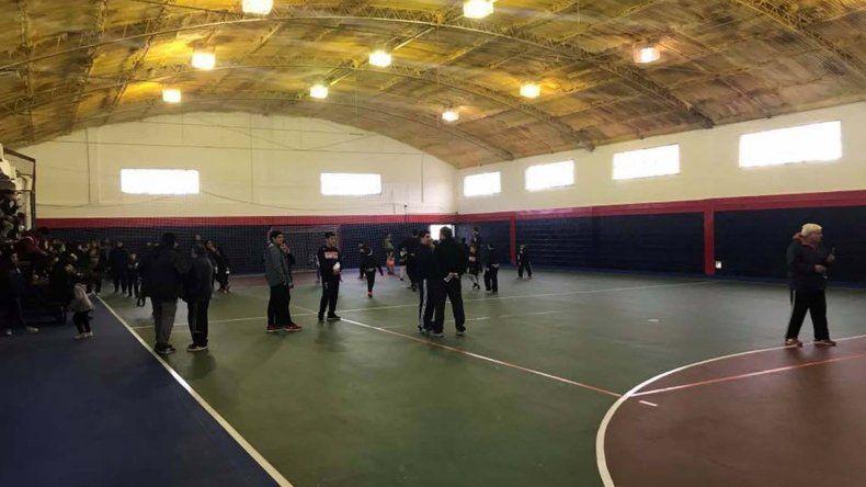 El gimnasio de USMA luce renovado y ya está listo para recibir diversas actividades.