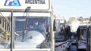 Tras dos días se normalizó el servicio  del transporte público de pasajeros