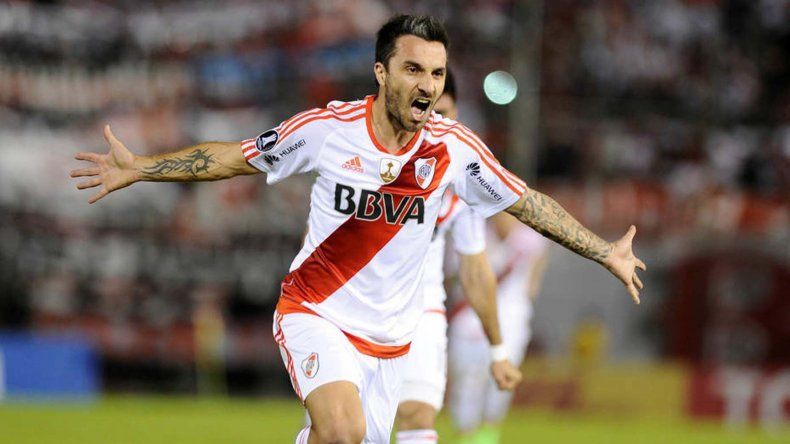 Ignacio Scocco será uno de los delanteros esta tarde en el ataque de River.