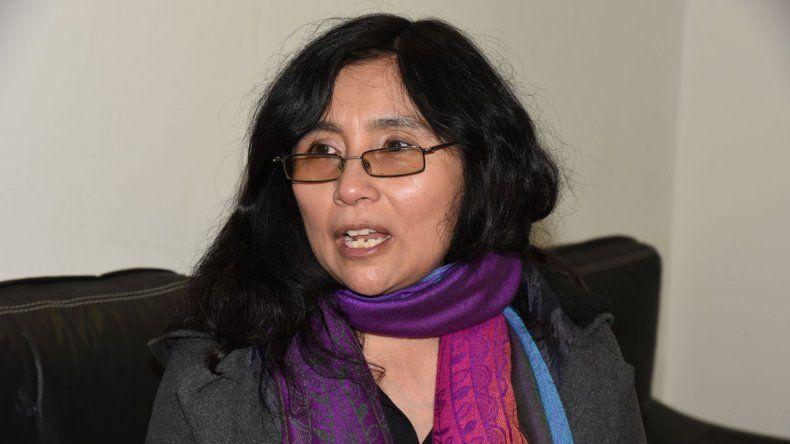 Paula Mamaní es candidata a diputada nacional por Chubut en representación del PTP.