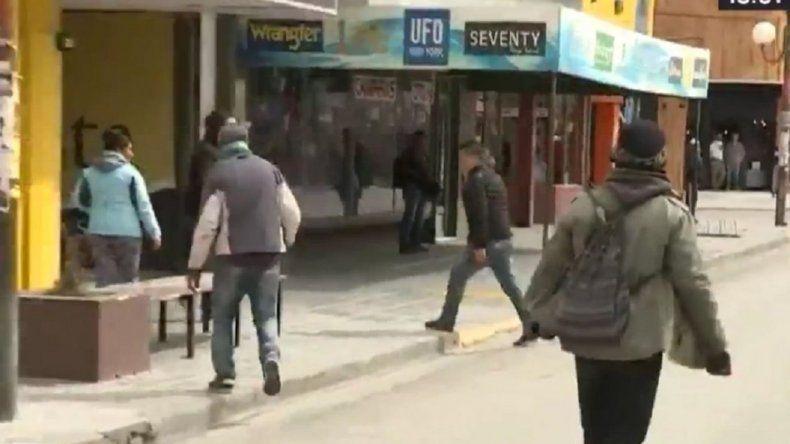Hubo incidentes durante protesta mapuche en el Juzgado de Esquel