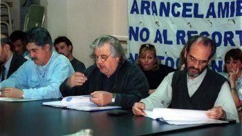 Arturo Canero fue rector de la Universidad entre 1992 y 1995.