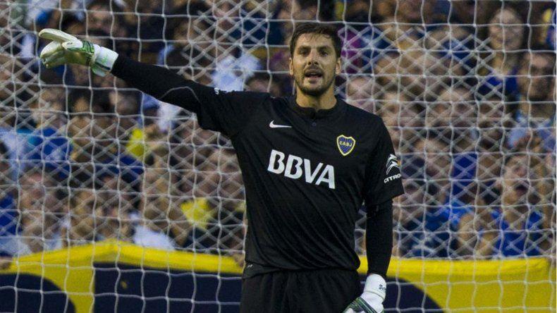 Guillermo Sara será esta noche el arquero titular de Boca.