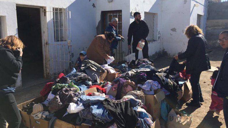 Piden ayuda para continuar entregando donaciones
