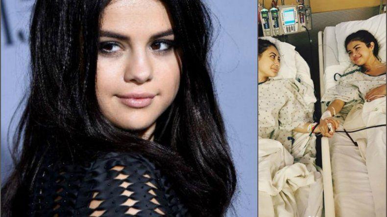 Selena Gomez, trasplantada de riñón