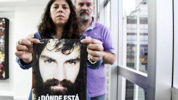 Sergio Maldonado, junto a su mujer Andrea Antico. Foto: Télam