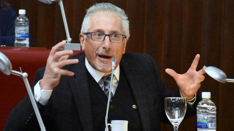 Jerónimo García solicitó la licencia en la Legislatura